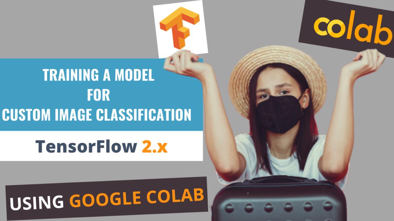 Train an ML model for custom object Image Classification