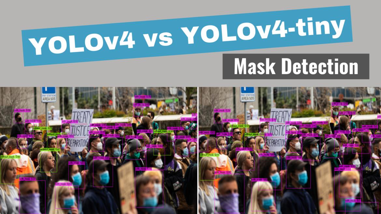 YOLOv4 VS YOLOv4-tiny